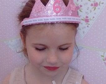 Custom birthday crown