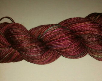Evil Queen's Reflection - Hand Painted Sock Yarn
