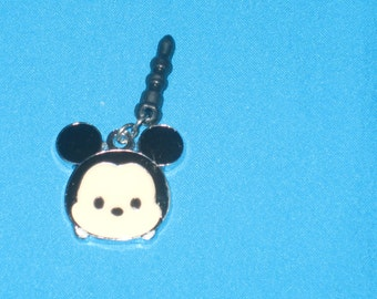 Chibi Mickey Cell Phone Dust Plug Charm Attached