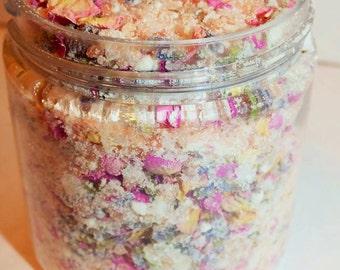 Luxurious Coconut Milk and Pink Himalayan Salt Bath Soak
