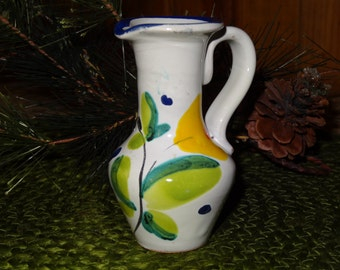 Miniature Inarco Pottery Pitcher / Inarco Pottery / Inarco Pottery
