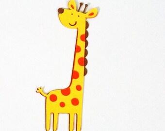 24 Giraffe die cuts - 2 inches tall