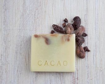 Cacao small, handmade cold process soap