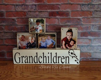 Grandchildren Photo Block