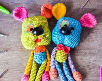 Crochet pattern Dog rattlle