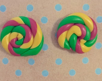 Large Swirl Studs