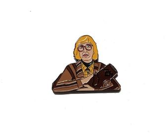 Twin Peaks Log Lady Enamel Pin