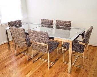 Mid Century Dining Table And Chairs Modern Set Stunning Design Institute America