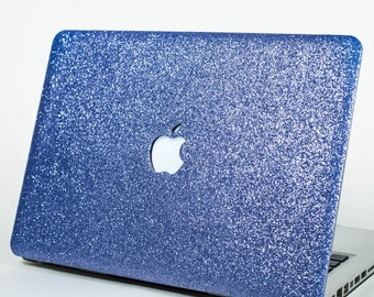 PERIWINKLE- Glitter Macbook Hard Case for Macbook Air,  Macbook Pro, + Macbook Pro with Retina Display