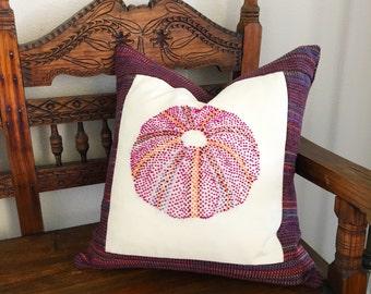 Purple Sea Urchin Shell