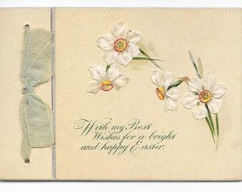 Mini Jonquils Easter Card, c. 1910
