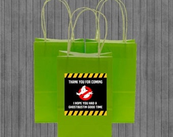 Ghostbuster Favor Tags
