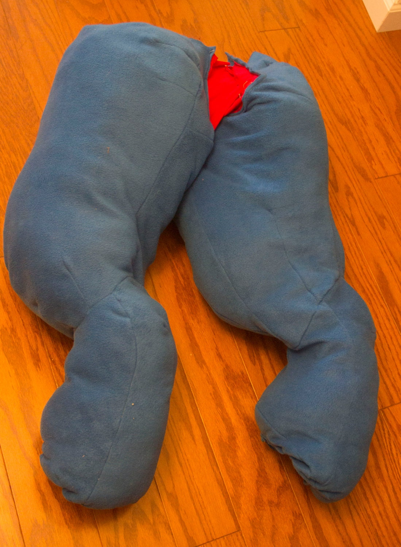 Fursuit Digitigrade Leg Costume Padding Sleeves From