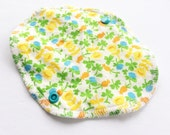 Lucy & Mabs Cotton Bamboo Wrap Style Reusable Pantyliner/ Briar Rose Specialty Print
