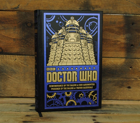 Book Safe - Doctor Who - Black Dalek Leather Bound Hollow Book Safe