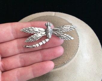 Vintage Silvertone Dragon Fly Pin