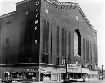 Olympia Arena, Detroit, Michigan 1960s, Photo Print