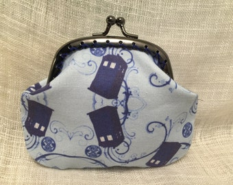 Dr Who Tardis Coin Purse