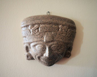 Mayan Mask Wall Hanging