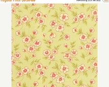 15% OFF 1 Yard FARMHOUSE by FigTree & Co. for Moda Fabrics Gingham Blooms Meadow