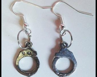 Handcuff earrings