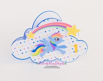 Pony Birthday Invitations Pony Invitations Unicorn Birthday Invitations Rainbow Party
