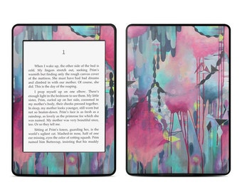 Amazon Kindle Skin - Paper Chain by Stephanie Corfee Artworks - Sticker Decal - Fits Paperwhite, Fire, Voyage, Touch, Oasis