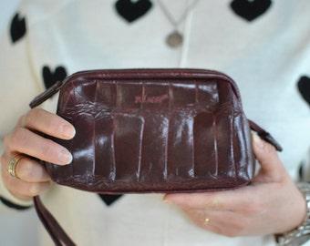 Vintage BULAGGI leather clutch ....(366)