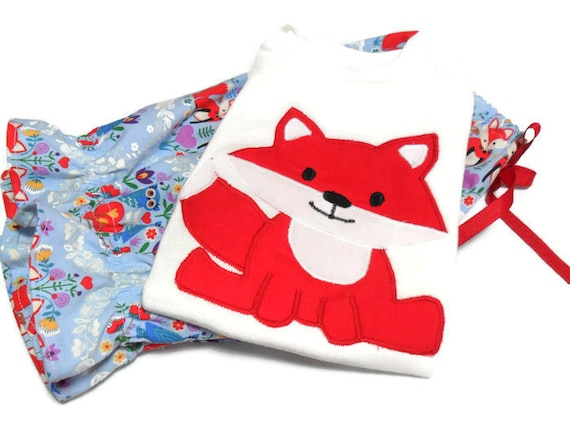 Baby Girl Outfit Fox outfit Baby girl clothes Baby