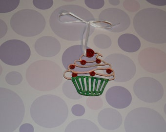 Glitter Cupcake Decoration