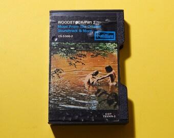 Woodstock Part 2 Cassette Tape + Case Cotillion Records USA CS-3-500-2