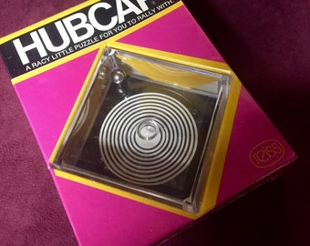Vintage Game Puzzle - HUBCAP - 1974 - Still in Wrapper never used