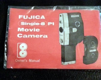 Fujica Single 8 P1 Movie Camera 1960s