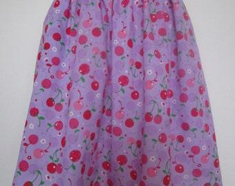 Purple Cherry Skirt