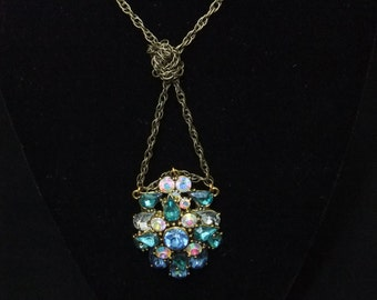 Crystal Knot Necklace