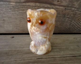Imperial Glass Slag Owl