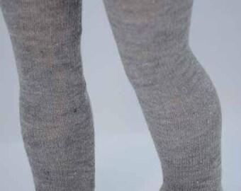 "American Girl Gray Silver TIGHTS, LEGGINGS, Hose, Socks for American Girl or 18"" doll"