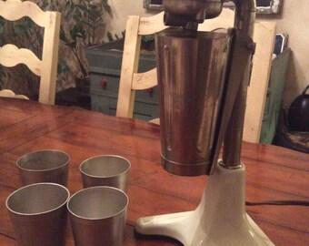 Milkshake Maker & Metal Cups