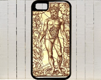 Antique Alchemy Drawing for iPhone Case 4, 4s, 5, 5C, 6, 6+ and Samsung Galaxy 3, 4, 5, 6, Edge