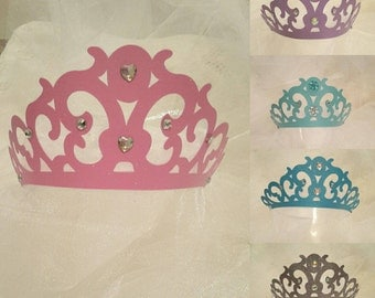 Princess Crown, Princess Tiaras, Cinderella party,Frozen Birthday,Party Decorations,Disney Princess Party,Dress up Crowns, Sparkly Tiaras