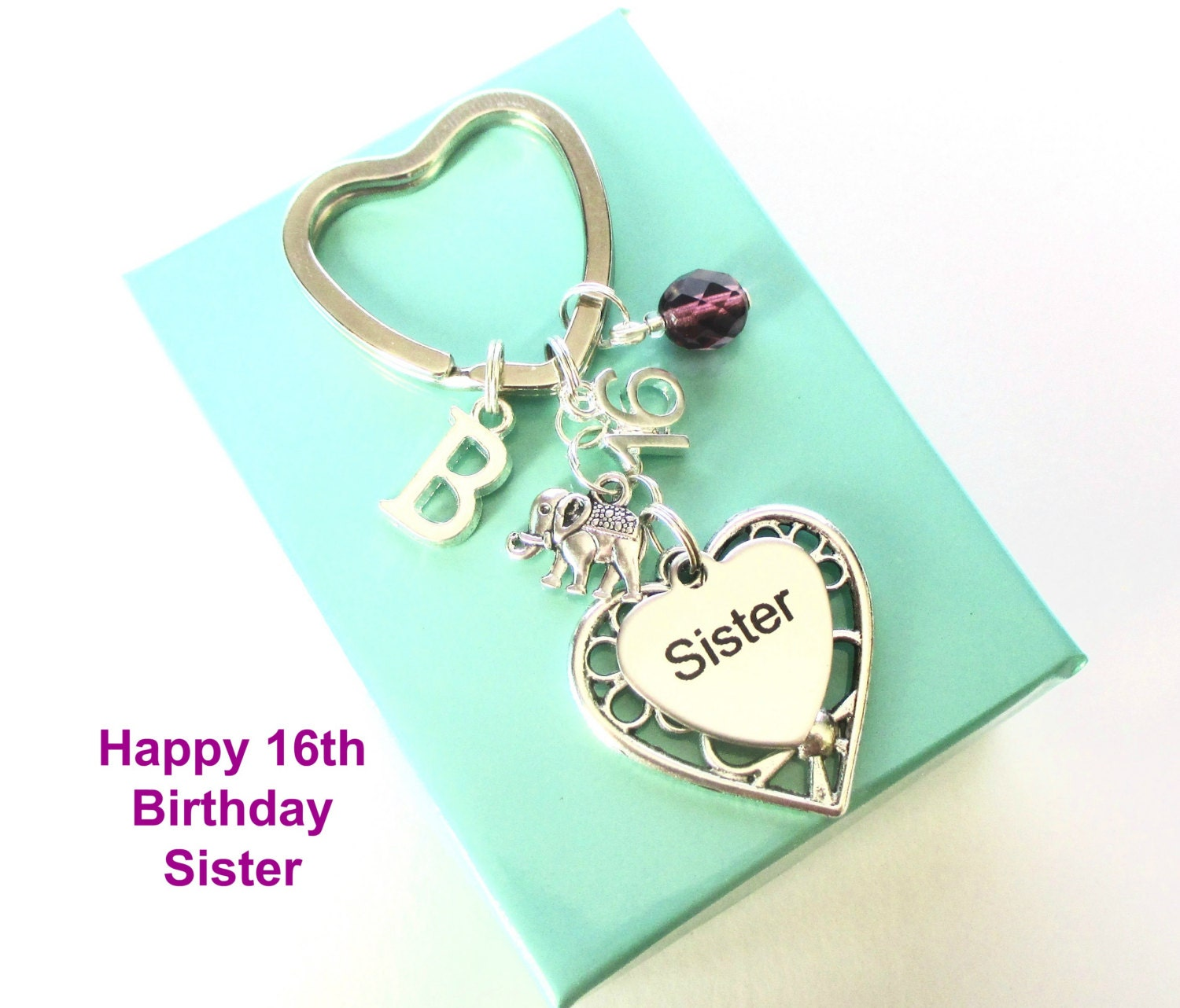 Personalised 16th Gift For Sister 16th Birthday Sister
