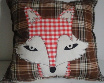 Autumn Fox Cushion