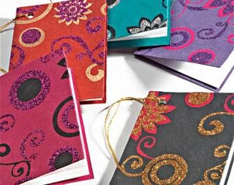 handmade printed gift tags