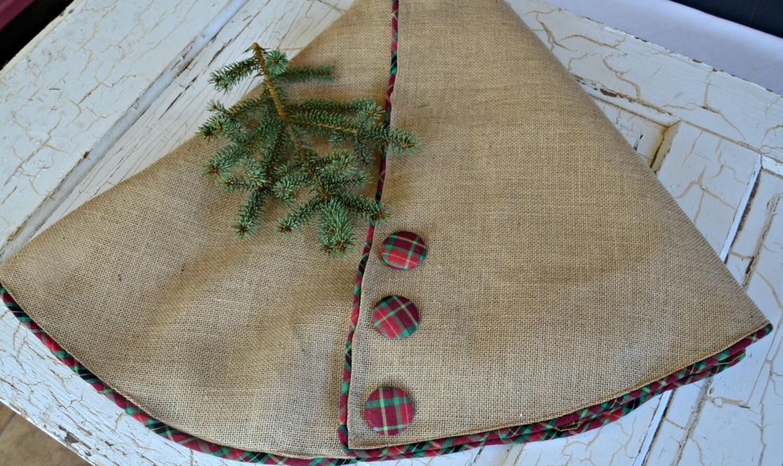 burlap tree skirts
