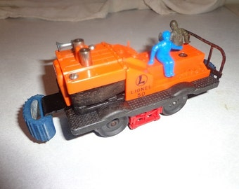 1950s Lionel electric trains,powered track workers car number 50 for 027 or 0 gauge track