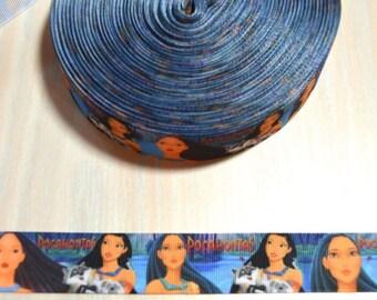 1 inch Grosgrain Ribbon - Pocahontas