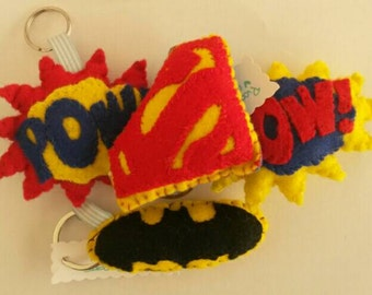 SUPER HERO portachiavi Superman