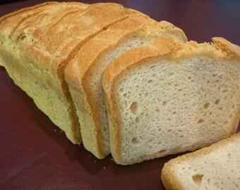 Sandwich Bread (Gluten-free, Soy-free, Vegan)