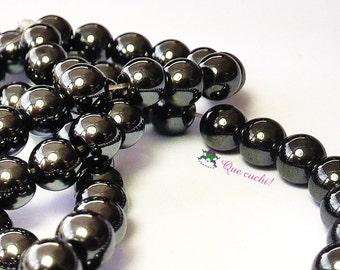 Lot 70 Onyx 6mm beads to make jewelry