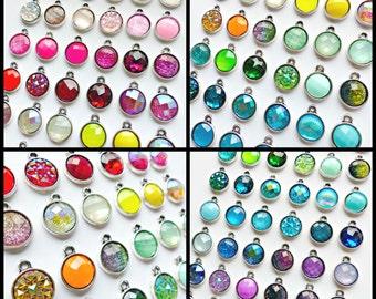 Simple Silver Drop Earrings - 69 Colors